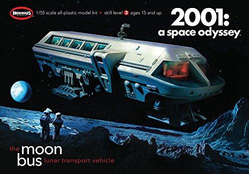 Moebius - Moon Bus 1969 Aurora Kit - A-MMK2001