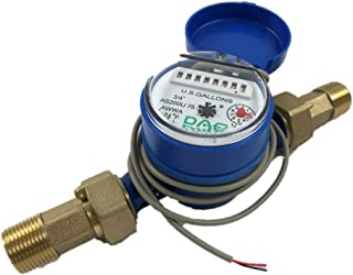 DAE AS200U-75P Water Meter with Pulse Output, 3/4