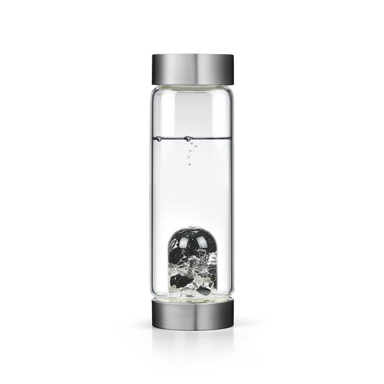 連結する学んだバージンビジョンクリスタルエディションgem-waterボトルby VitaJuwel W / Freeカリフォルニアホワイトセージバンドル 16.9 fl oz