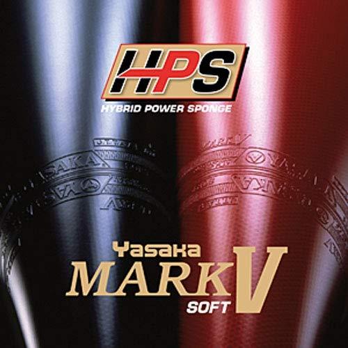 Yasaka Belag Mark V HPS Soft Optionen 2,3 mm, schwarz