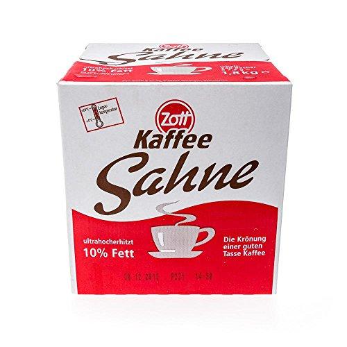 Zott Kaffeesahne, Portionspackungen, 10 % Fett, (240 x 10 g Becher) - 240Portionen