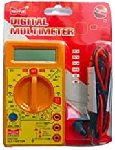 Generic DT830D Small Digital Multimeter, Yellow