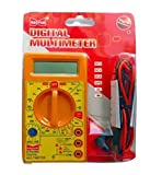 Robodo Dt830d Small Digital Multimeter, Yellow