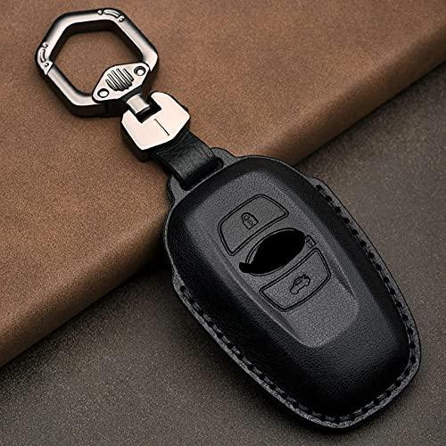 Protector de Piel de la Cubierta del Llavero Inteligente de Cuero, Apto para Subaru Forest Man Aohu XV Lion protección de Cubierta Completa
