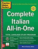 Practice Makes Perfect: Complete Italian All-in-One (English Edition)