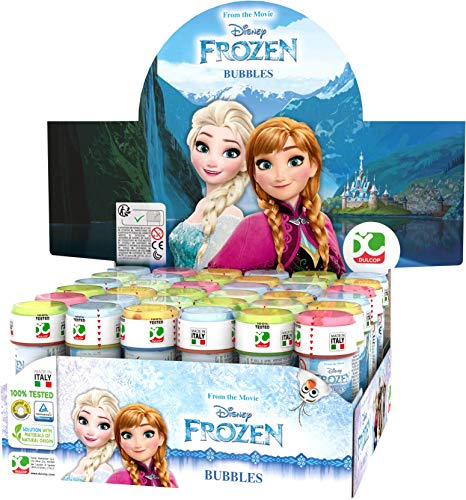 ColorBaby Lot de 36 Bulles de Savon Frozen, 60 ml, Unidades (18)
