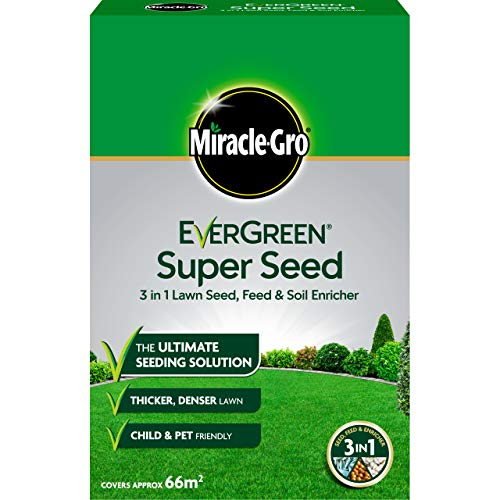 Miracle-Gro EverGreen Super Seed Lawn Seed