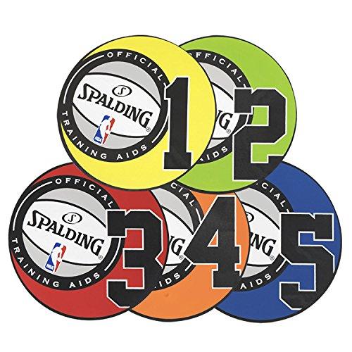 Spalding Shooting Puntos, 8', Multicolor