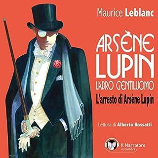 L'arresto di Arsène Lupin copertina