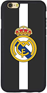 Saul&Dunn Real Madrid Black and White iPhone 7 & iPhone 8 Case Graphic Drop-Proof Durable Slim Soft TPU Cover