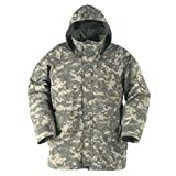 New GI Genuine US Army GEN 2 II EWCWS EWCS Goretex Waterproof ACU Digital Parka Jacket Coat M ML (Medium/Long) Gray