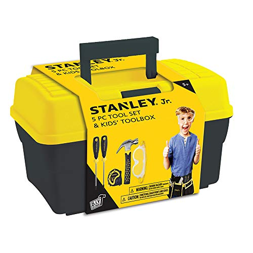 Stanley Jr. - Tool Box and 5 pcs Set of...