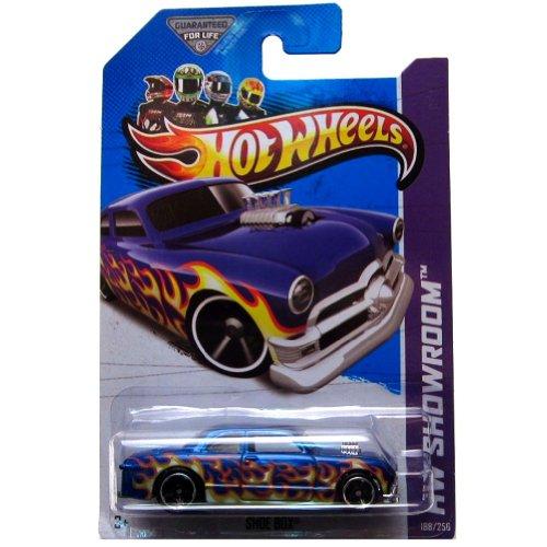 Schuh Box '13Hot Wheels 188/250(blau) Fahrzeug