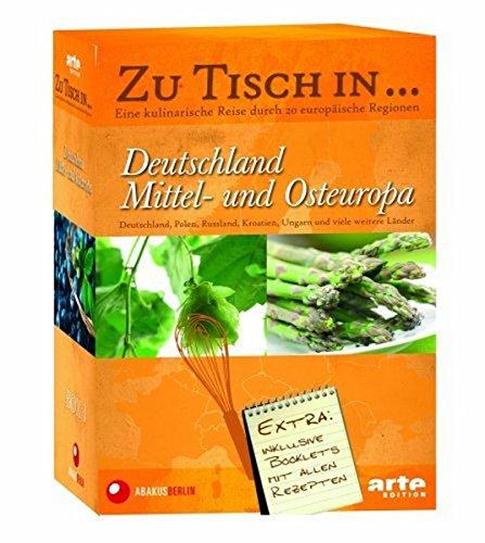 Zu Tisch in... Deutschland, Mittel- und Osteuropa (Box 3, 5 DVDs)