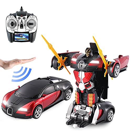 Transformar Juguetes De Deformación Coche, Nuevo Control Remoto Inalámbrico De Deformación De Inducción Coche, Modelo De Robot De Automóvil, Juguete De Niños De Deformación De Automóviles - Tienda De