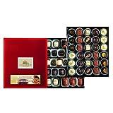 Lauensteiner Marzipan-Auslese | 700g in Geschenk-Schachtel mit Alkohol I 12 köstliche Sorten I Genussvolle Geschenkidee zum Geburtstag oder einfach so