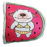 XINKONG Cojín del Asiento Cojín Almohada Cojín Muñeca Cojín De Peluche De Juguete Silla Linda Fruta Perro Almohada Decoración del Hogar (Color : Strawberry Dog)