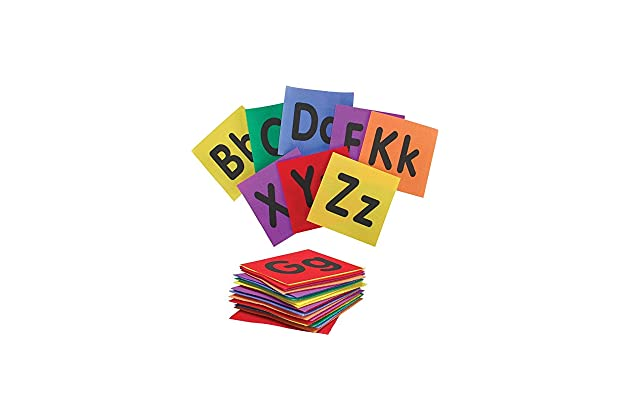 Really Good Stuff Alphabet Carpet Mark-Its – Make Learning The Alphabet Fun, Easy and Interactive with These Carpet Squares