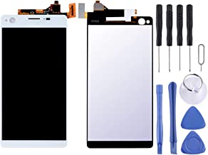 GXX Lin LCD Display + Touch Panel for Sony Xperia C4(Black) (Color : White)