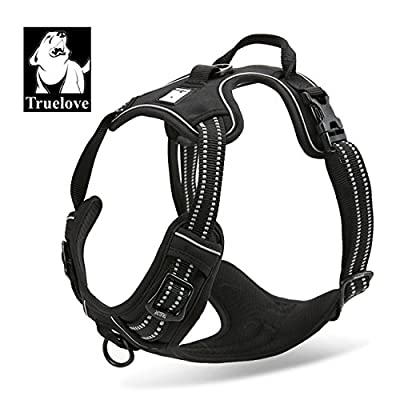 Truelove Dog Harness TLH5651 No-Pull Reflective Stitching Ensure Night Visibility, Outdoor Adventure Big Dog Harness Perfect Match Puppy Vest Now Available
