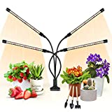 Plant Light for Indoor Plants, Aokrean Upgraded 4 Arms Grow Light Full Spectrum