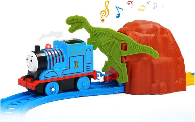 diseño simple y generoso ZHANG Los Niños Thomas Tren Set Niño Juguete Juguete Juguete de Coche de Tren eléctrico de múltiples Capas  comprar mejor
