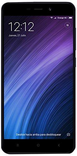 Xiaomi Redmi 4A Smartphone da 5' HD, 2GB RAM, 16 GB ROM, Snapdragon 425 1,4 GHz, 13MP Camera, Android, Grigio