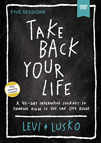 Take Back Your Life Video Study: A 40-day Interactive Journey to Thinking Right So You Can Live Right [DVD]の詳細を見る