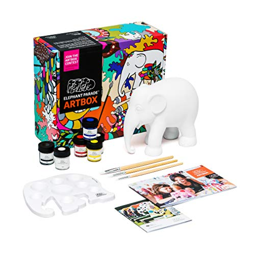 Elephant Parade Artbox - DIY - Statua di elefante lavorata a mano - 15 cm