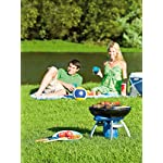 Campingaz Party Grill, Camping Stove and Grill, All-in-One Portable Camping BBQ, with Griddle, Grid and Pan Support