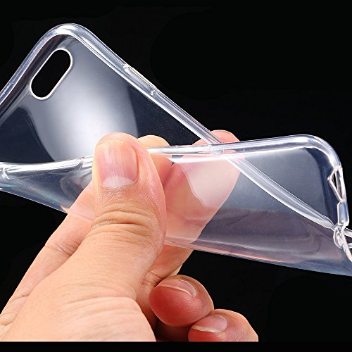 """Price comparison product image Ultra Thin Slim Crystal Clear Soft TPU Cover Case Skin for 4.7"""" Clear."""