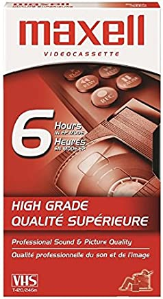 HGX-Gold Premium High Grade T-120 VHS Tape