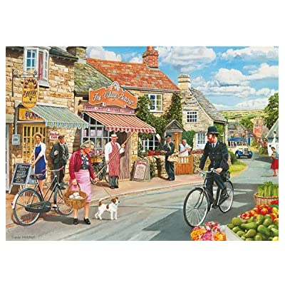 4 X 500 PIECE JIGSAW PUZZLES Gibsons Bobby/'s Beat