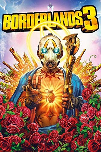 Borderlands Póster, Cartón, Multicolor, 61 x 91,5 cm