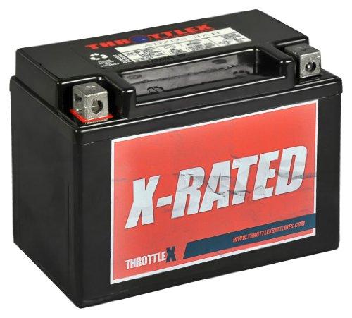 ThrottleX Batteries - ADZ12S - AGM Replacement Power Sport Battery