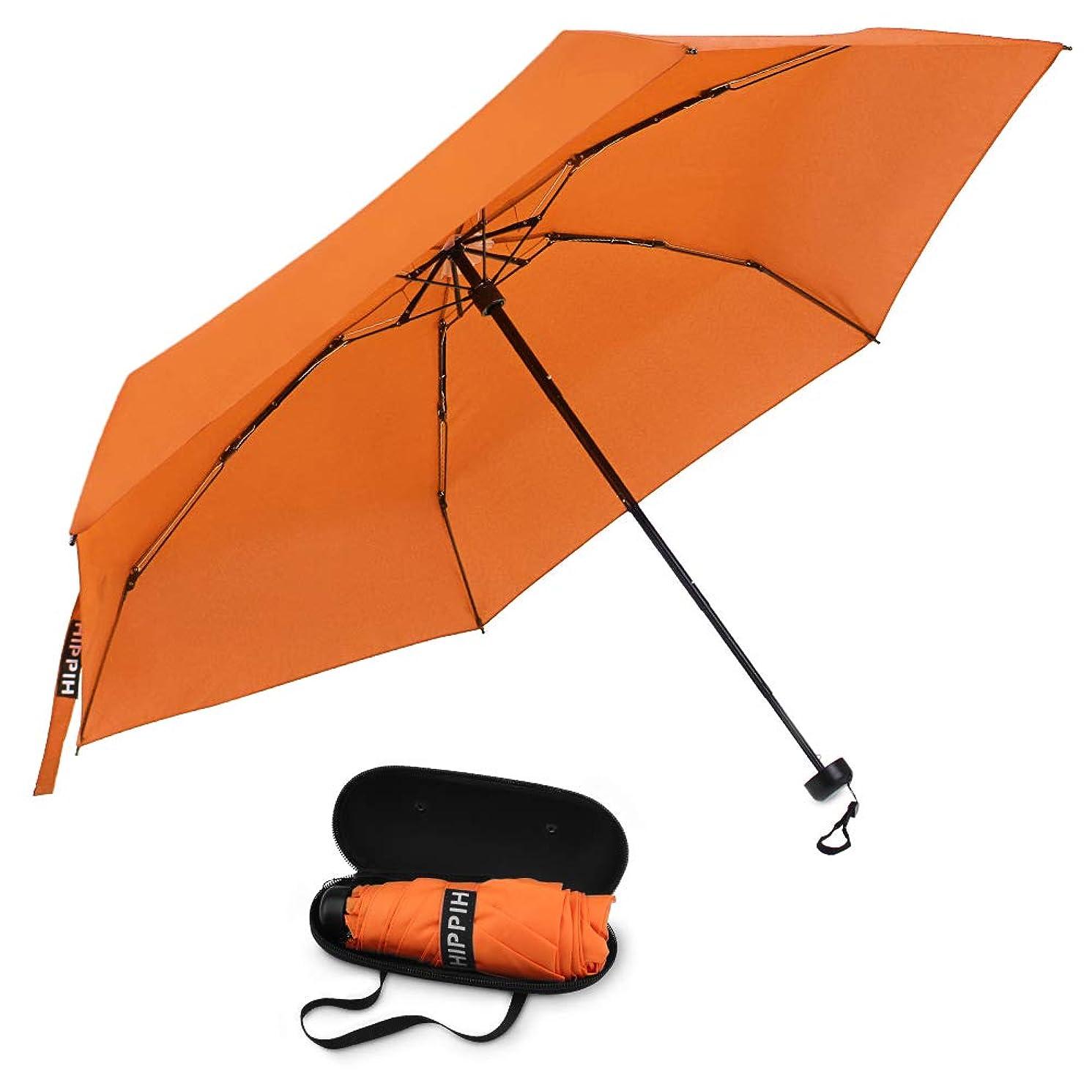 Small Mini Umbrella with Case Light Compact Design Perfect for Travel