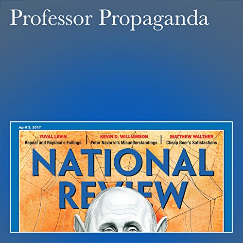 Professor Propaganda audiobook cover art