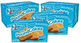 4 boxes of Drake's Mini Pound Cakes 24 individually wrapped miniature traditional pound cakes Delicious, moist and just the right amount, our Mini Pound Cakes are the snack you've been waiting for. They're ready to easily be your quick snack, breakfa...