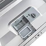 Klarstein Amazonia 6 Argentea Spülmaschine Tischgeschirrspülmaschine (1380 Watt, 55 cm breit, 6 Maßgedecke, geräuscharm, 6 Programme, Aquastop, LED-Kontrollleuchten) silber - 9