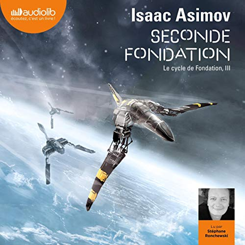 Seconde Fondation audiobook cover art
