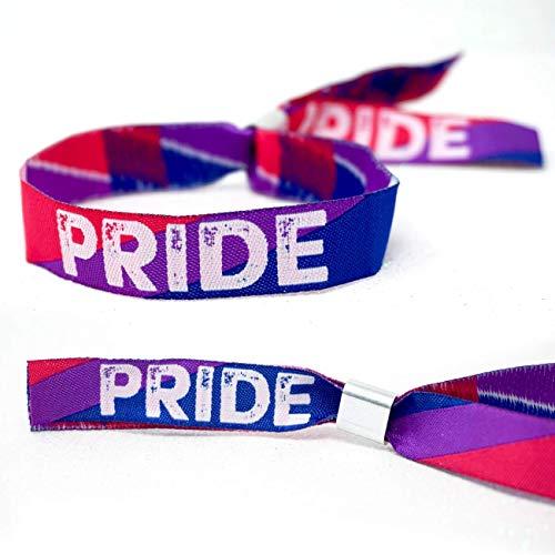 Bisexual Pride Wristband Armbänder ~ Bi Sexual Pride Wristband Armband - LGBT, LGBTQ, Gay Pride Parade Berlin Accessories Zubehör