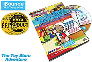 "JumpSport iBounce Kids Trampoline ""The Toy Store Adventure"" Episode-4 DVD"