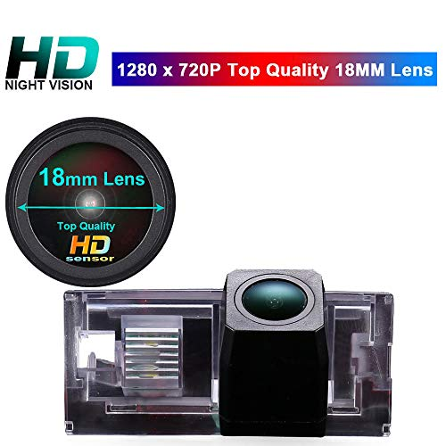 HD IP68 1280Pixels 170 Wide Angle Rear View Reversing Backup License Plate Light Camera for BMW E46 Touring Limo Compact Limousine Convertible 4D 5D 316i 318i 320d 323i 328i 330ci 325xi (7021) backup Cameras Vehicle