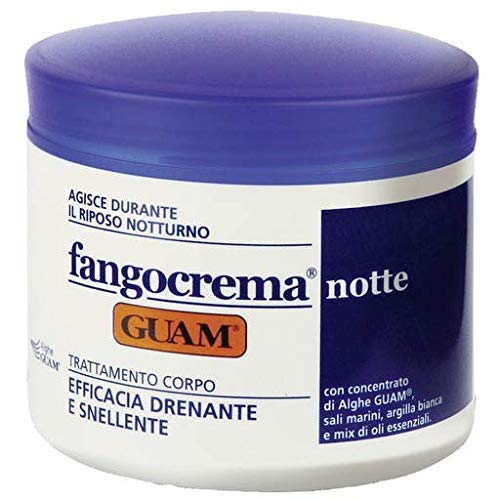 GUAM Seaweed Night Body Slimming Cream, Body Firming Moisturizer with Shea Butter and Sea Salt, Overnight Cellulite Cream | By GUAM Beauty