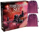 Forbidden Sky Cooperative Board Game || Bonus 2 Purple Velveteen...