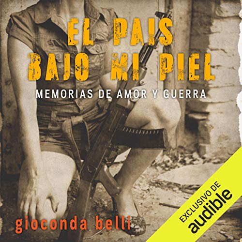 El país bajo mi piel [The Country Under My Skin] audiobook cover art