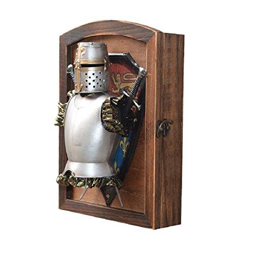 home-organizer Tech dekorativer Holz Wandhalterung Schlüsselkasten Schlüsselkasten mit 6Haken–Wall Decor Haken Key Organizer für, holz, Typ C, M