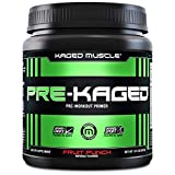 KAGED MUSCLE, PRE-KAGED Pre Workout Powder, L-Citrulline + Creatine...