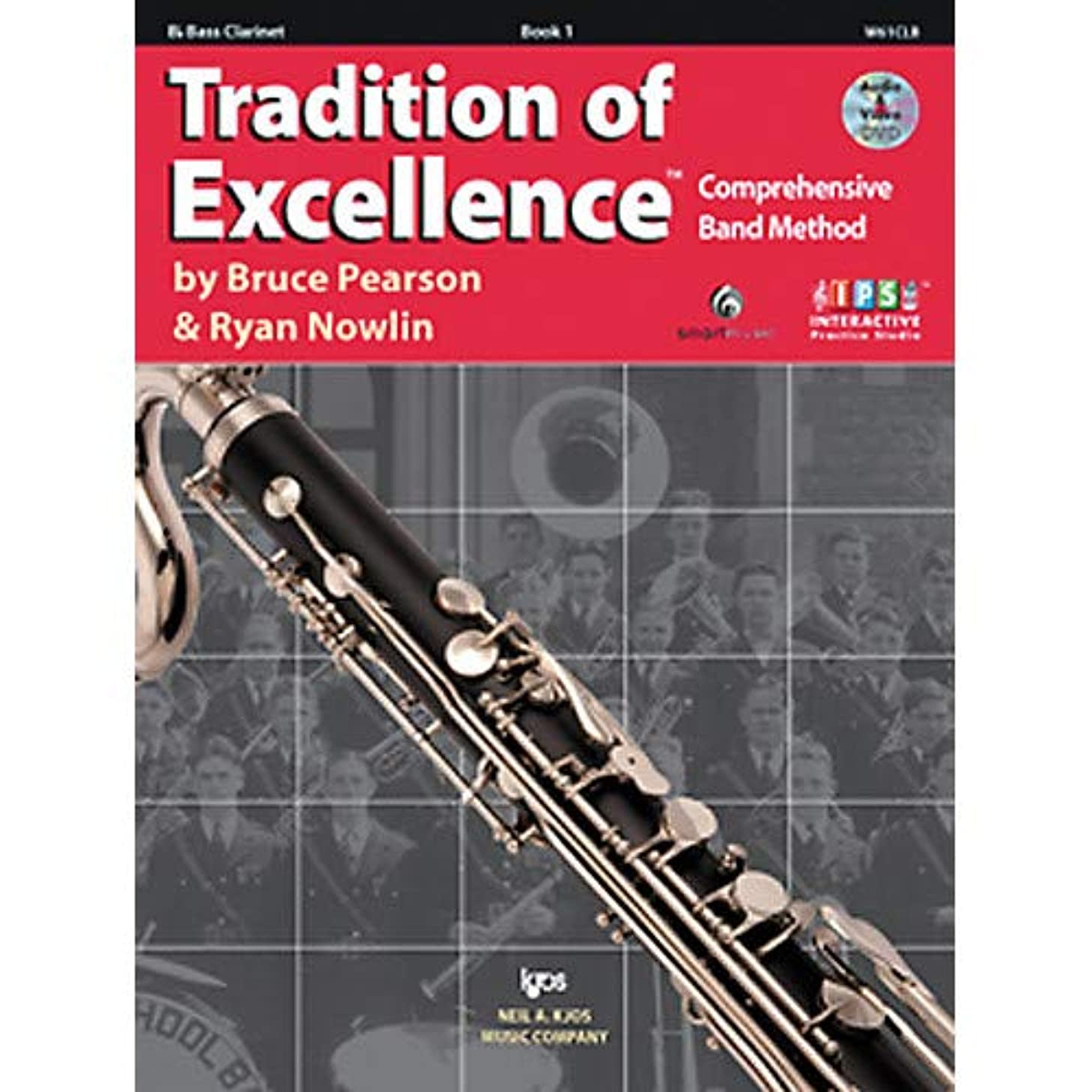 Tradition Of Excellence Book 1 for Bass Clarinet Pack of 2