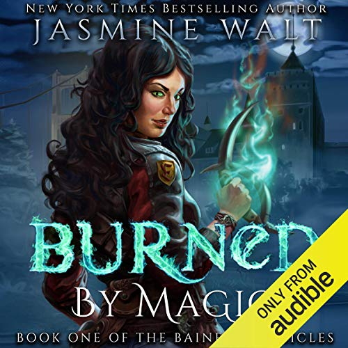 Burned by Magic audiobook cover art